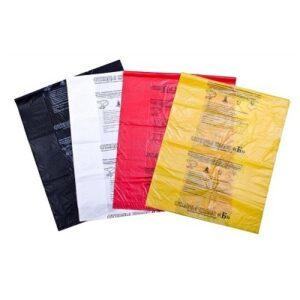 Пакет для сбора ихранения медицинских отходов (2)